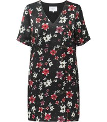 straight dress flower print