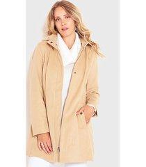 chaqueta wados montgomery camel - calce regular