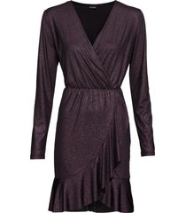 abito a portafoglio in lurex (viola) - bodyflirt