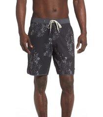 men's vuori cruise hybrid board shorts, size 28 - blue