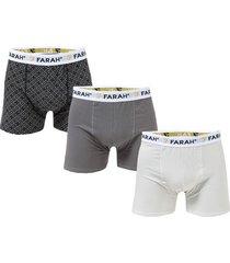 mens creston 3 pack boxer shorts