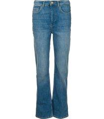 high waist jeans cosm  blauw