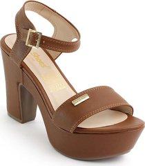 calzado dama tacon 182405miel