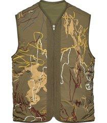 victor vest vest groen wood wood