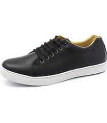 sapatênis casual em couro shoes grand masculino - masculino