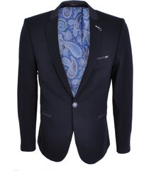 gabbiano blazer donkerblauw stretch