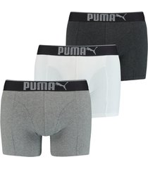boxershorts puma lifestyle sueded cotton boxer 3-pack