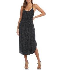 women's karen kane racerback cami dress, size x-small - black