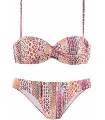 bikini lascana sigi 2-delige bandeau bikiniset