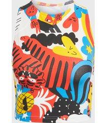 peto adidas performance spw eglegfx multicolor - calce ajustado