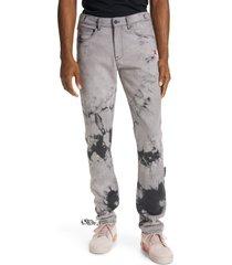 men's off-white tie dye slim jeans