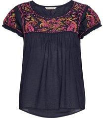 mariah s/s blouse blouses short-sleeved multi/patroon odd molly