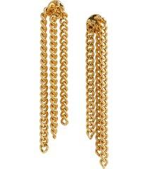 women's madewell chainfall earrings