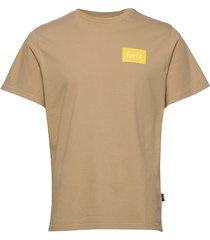 trek t-shirt t-shirts short-sleeved beige forét