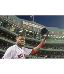 boston red sox  david ortiz hat wave good bye    2.5 x 3.5 fridge magnet