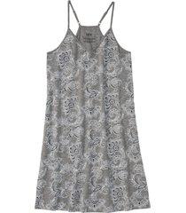 camicia da notte con spalline sottili e dorso a vogatore (grigio) - bpc bonprix collection