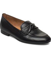 slip on loafers låga skor svart gabor