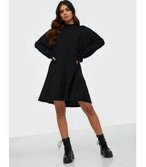 vero moda vmzaidi l/s oversized sweat tunic v loose fit dresses