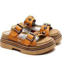 sandalia de cuero suela valentia calzados agnes