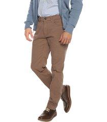 pantalon walnut preppy 5 bolsillos  98%alg 2%elastano bota 19