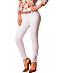 jeans colombiano control abdomen  blanco bartolomeo
