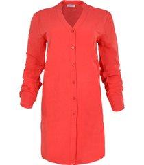 maicazz ocean-blouse su20.20.002 koraal rood