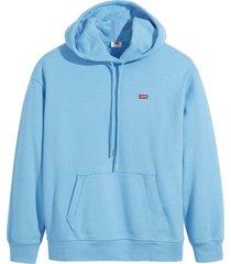 hoodie standard blauw