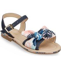sandalias  azul  bata jitendra mujer