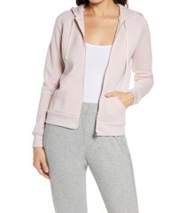 women's alternative adrian zip hoodie, size 2x - pink