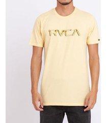 camiseta rvca big glitch masculina