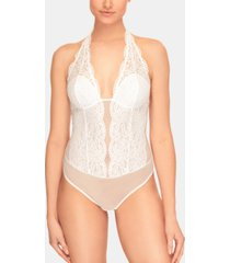 b.tempt'd women's ciao bella lace halter bodysuit 936144