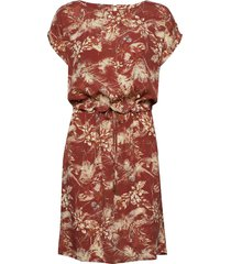 sunja dress jurk knielengte rood minus