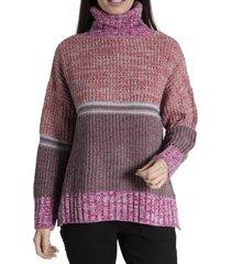 sweater mujer azucena algodón burdeo rockford