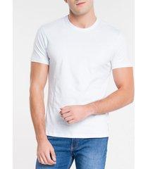 camiseta masculina essentials branca calvin klein jeans - pp