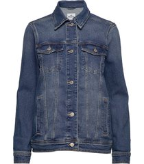 boyfriend denim jacket jeansjack denimjack blauw hollister