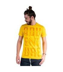 camiseta mister fish estampado adventure masculina