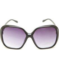 gafas marco cuadrado color negro, talla uni