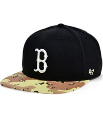 '47 brand boston red sox operation camo snapback cap