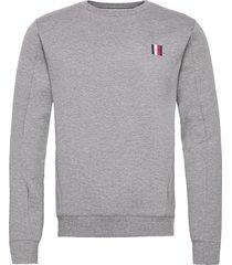 modern essentials sweatshirt sweat-shirt trui grijs tommy hilfiger