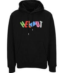 helmut lang 3d logo hoodie