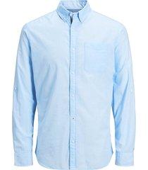 overhemd button-down popeline