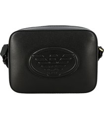 emporio armani mini bag emporio armani shoulder bag in synthetic leather with embossed logo