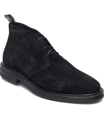 kyree mid lace boot desert boots snörskor svart gant
