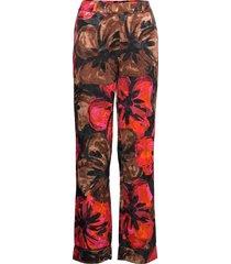 charlotte, 1167 pajama jacquard casual byxor multi/mönstrad stine goya