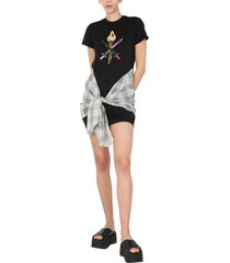 opening ceremony word torch hybrid t-shirt dress