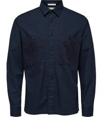 avi ls contrast shirt