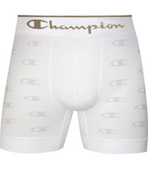 cueca boxer champion c logo 2836 branco - branco - masculino - dafiti