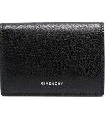 givenchy woman black compact edge wallet