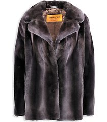 made for generations premium mink fur fitted jacket