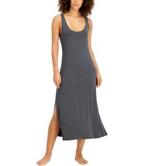 alfani ultra-soft long sleeveless nightgown, created for macy's